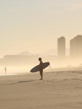 The surfer, Rio de Janeiro 2009