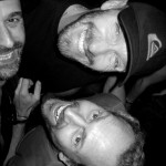 Miguel, Giampi & myself